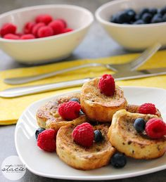 Baked French toast. Prep the night before, bake in the morning.