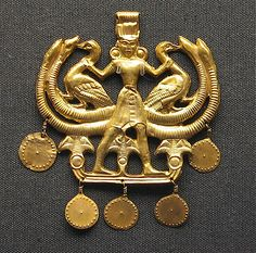 Mycenaean Gold Jewlery British Museum.JPG by Journey to Ancient Civilizations, via Flickr
