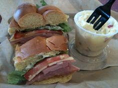 Honey Baked Ham Sandwich..this is my favorite sandwich in the world!