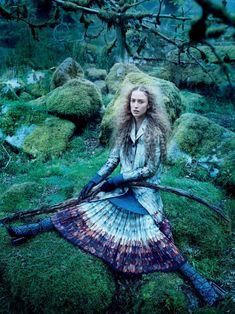 Raquel Zimmermann Goes 'Into The Woods' By Mikael Jansson For Vogue US September2015 - 3 Sensual Fashion Editorials | Art Exhibits - Women's Fashion & Lifestyle News From Anne of Carversville