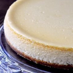 "There's no such thing as ""Just a Vanilla Cheesecake"". There's nowhere to hide any flaws. Get my tips on how to bake the perfect cheesecake every single time"