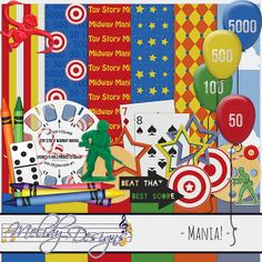 June 2014 Kit Challenge from Melidy Designs - MouseScrappers.com