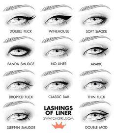Iata cateva modele de makeup care va vor pune privirea in evidenta doar cu ajutorul unui eyeliner sau a unui creion de ochi. Intra pe site-ul nostru si alege si tu eyeliner-ul pe care ti-l doresti, pentru o privire seducatoare! http://goo.gl/4aPXWU #organik #makeup #eyeliner