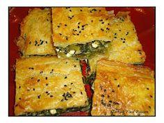 Turkish Food Passion: Spinach and Feta Borek (Ispanaklı ve Beyaz Peynirli Börek)