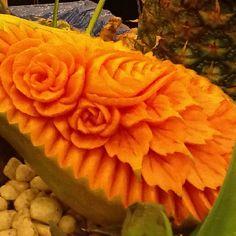 Amazing fruit carving #DoleBH12