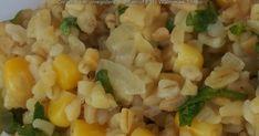 kukoricás bulgur nemcsak vegáknak Grains, Rice, Food, Bulgur, Lasagna, Essen, Meals, Seeds, Yemek