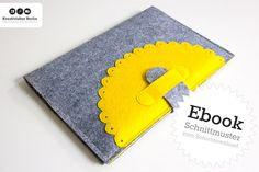 Schnittmuster-Ebook: iPad-Hülle Tablet aus Filz