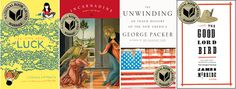 Also, That's It: What to Read: National Book Award Winners