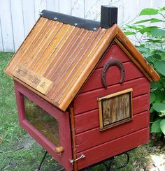 Country style! Love love love little free libraries! Such an easy way to make a big investment in your community! I'd always include kids books in mine at multiple levels... Plus I'd make sure you knew that returning a book was optional (so poor kids like I was don't feel obligated)