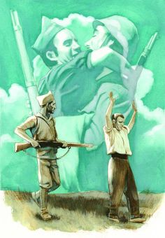"""""""Todas las guerras son malas pero la guerra civil es la pero de todas, pues enfrenta al amigo con el amigo, al vecino con el vecino, al herm..."""