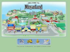 Site Review: MinyanLand -- MinyanLand was created to entertain students while teaching about the concept of the open market and the basics of economics and finance.
