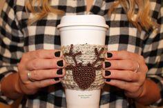 Deer Coffee Coozie Antler Coffee Coozie Coffee by #threesheepshack, $6