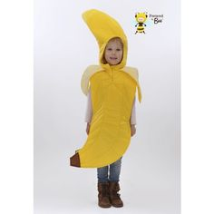 Banana Kids Costume | Fancy Dress Costumes For Kids Free standard delivery from http://www.fancydresscostumesforkids.com/home/