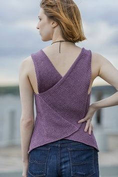 Ravelry: Bellingham Tank pattern by Angela Hahn