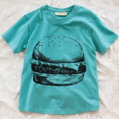 She would be just like her daddy--he would be so proud.  soft gallery burger tee
