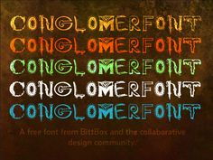 It's done! Conglomerfont is a free font created by myself and the design community from all over the world, on nearly every continent via email. I asked people to send individual letters to my inbox, and I coagulated the submissions into a single font, hence the name, Conglomerfont. Below you'll find a list of all …