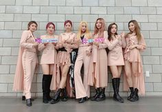 Stage Outfits, Kpop Outfits, Pink Outfits, Bridesmaid Dresses, Wedding Dresses, Pop Fashion, Mtv, Girl Power, The Dreamers