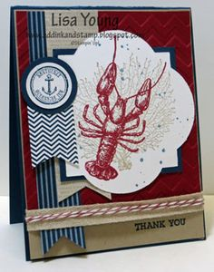 By the Tide Lobster by genesis - Cards and Paper Crafts at Splitcoaststampers