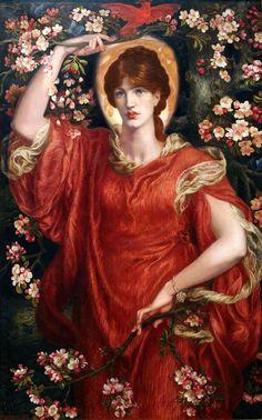 Dante Gabriel Rossetti - A Vision of Fiammetta (1878)