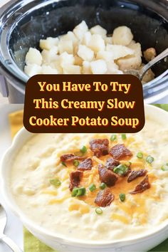 #Try #Creamy #Slow #Cooker #Potato #Soup Highlights Curly Hair, Slow Cooker Potato Soup, Angelina Jolie Style, Tiny Necklace, Lace Necklace, Wedding Heels, Almond Nails, Creative Eyeliner, Russian Dogs