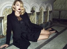 Lita Mortari Fall 2014 - Looking chic and sophisticated, Gigi Hadid shows off her sleek and glamorously sexy side for the new Lita Mortari Fall 2014 lookbook.   The b...