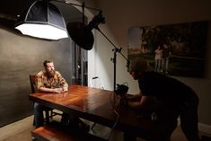 Get your own epic portraits with 2 lights and an Oliphant backdrop - ISO 1200 | Photography Video blog for photographers