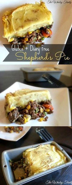 The Wholey Trinity: Gluten-Free Feature Friday: Shepherd's Pie (Gluten + Dairy Free)