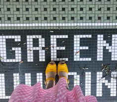 """676 Likes, 3 Comments - Katie Amelia (@ameliajetson) on Instagram: """"Is this a sign from the universe that I need green @lottafromstockholm clogs? ....probably not, but…"""""""