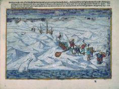 Illustration from Gerrit de Veer's Waerachtighe Beschrijvinghe van drie seylagien... (Amsterdam, 1598, British Library C.133.e.34) - See more at: http://britishlibrary.typepad.co.uk/european/2015/02/overwintering.html#sthash.cNQZG49m.dpuf
