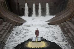 Matthew Barney and Gaspar Noé The River, Frieze Magazine, Magazine Art, Theatre Design, Stage Design, September Events, Desgin, Bühnen Design, In Theaters Now