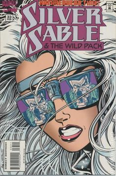 Silver Sable and the Wild Pack comic books Marvel Comics Superheroes, Marvel Dc, Marvel Women, Marvel Girls, Dc Comics, Comic Book Covers, Comic Books, Heroes For Hire, Power Man