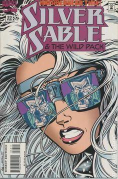 Silver Sable and the Wild Pack comic books Marvel Comics Superheroes, Marvel Girls, Marvel Women, Dc Comics, Comic Book Covers, Comic Books, Power Man, Western Comics, Warrior Spirit