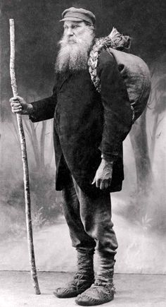 A Lithuanian book smuggler, 19th century  The famous book smuggler (knygnešys) Vincas Juska.
