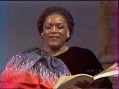 Jessye Norman - Ave Maria (Schubert) - YouTube SHE IS JUST AWESOME! I COULD LISTEN TO HER ALL DAY WHEN IN THE MOOD FOR THIS GENRE OF MUSIC.