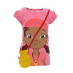 Izzy shirt from Jake and the neverland pirates.