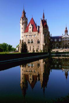 Moszna Castle, Poland by Jarek Radimersky