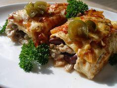 V kuchyni vždy otevřeno ...: Kuřecí jalapeňo enchiladas  ( zapečené )