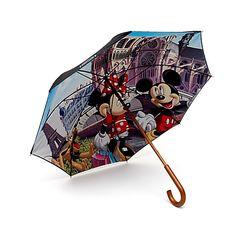 Disneyland Paris Mickey and Minnie Umbrella, Paris Collection