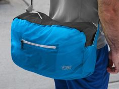 These collapsible backpacks & duffels, discovered by The Grommet, weigh in at just under three ounces and are made to last. Lewis N Clark, Gym Towel, Light Jacket, Gifts For Teens, Going To The Gym, Duffel Bag, Bag Making, Pouch, Backpacks