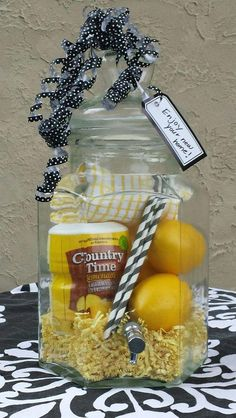 Ideas to Show Love with DIY Christmas Gift Baskets Lemonade dispenser christmas gift basket The post Ideas to Show Love with DIY Christmas Gift Baskets & Geschenke appeared first on Gift . Diy Gift Baskets, Raffle Baskets, Christmas Gift Baskets, Diy Christmas Gifts, Basket Gift, Summer Gift Baskets, Fundraiser Baskets, Xmas, Liquor Gift Baskets