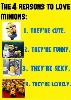 Reasons to love minions! #minions