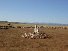 Standing stone, Arzhaan, Tuva