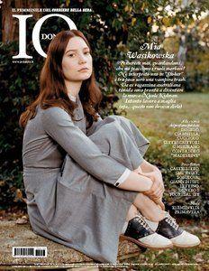 Mia Wasikowska - Io Donna Magazine Cover [Italy] (23 March 2013)