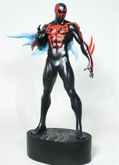 Spider-Man 2099 statue - Bowen Designs