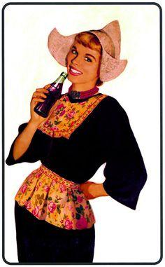 Vintage Dutch coca cola ad