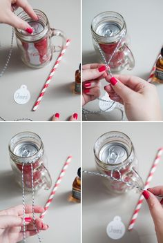 DIY | MASON JAR COCKTAIL GIFTS November 28, 2014 Happy Black Friday! Today I have a super fun, totally easy and extra adorable project for you. I know you are all busy shopping and such, so while you are out make sure to pick up the couple of things you'll need to make these fab Mason Jar Cocktail Gifts for all your favorite boozers! They would make the perfect bridesmaid and groomsmen gifts, especially if you personalized each jar – but of course they would also make great inexpensive…