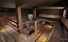 Smoke sauna, broad woodplanks TähtiSavu-savusauna - Rokua Konserni