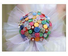 Vintage button bouquets   Gallery - Beaubuttons