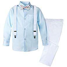 Spring Notion Boys 4-Piece Dress up Pants Set