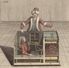 Frolicsome Engines: The Long Prehistory of Artificial Intelligence – The Public Domain Review Robotics And Artificial Intelligence, Mechanical Turk, Sea Serpent, The Turk, All Covers, Sea Monsters, Prehistory, Popular Culture, Science And Nature